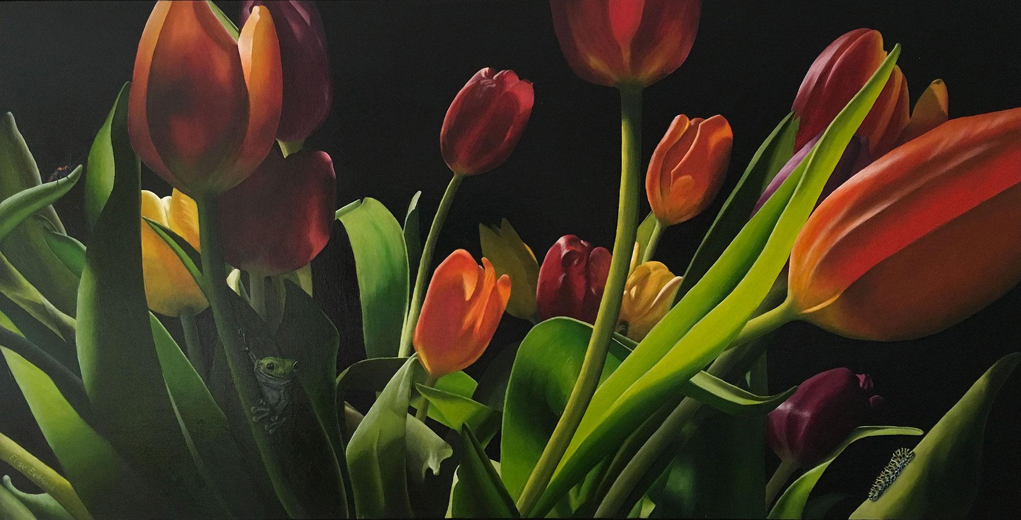 Elise Eekhout | Tulpenbos 1 | kunst